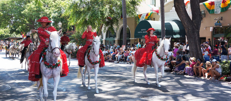 Santa-Barbara-Fiesta-Holiday-Parade