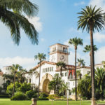 Picture showing Santa Barbara's Courthouse