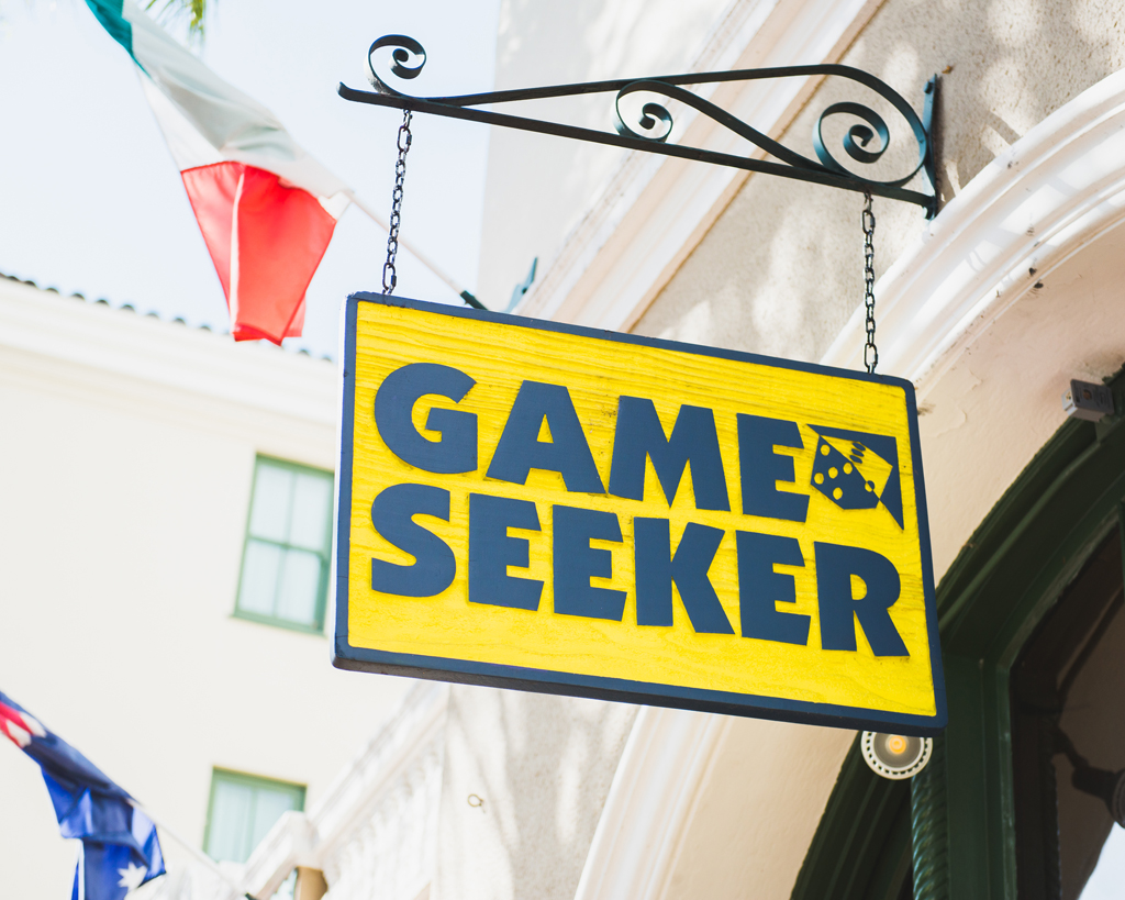 game seeker sign