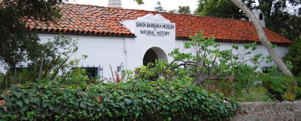 exterior of santa barbara museum of natural history